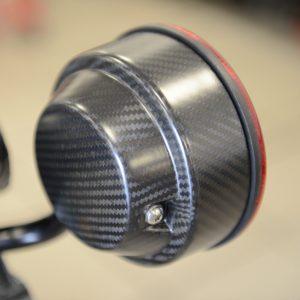 Obudowy lamp z włókna węglowego